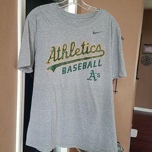 Nike MLB Shirts - Oakland A's T shirt